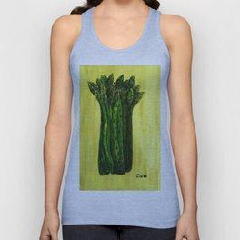 Asparagus Unisex Tank Top