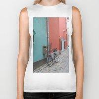 street Biker Tanks featuring Street by Infra_milk