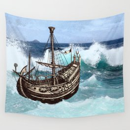 Sea Fever Wall Tapestry
