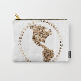 The Earth Is In Our Hands Carry-All Pouch