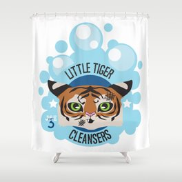 Little Tiger Cleansers Shower Curtain