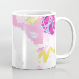 In the air - Abstract Colorful Painting Coffee Mug