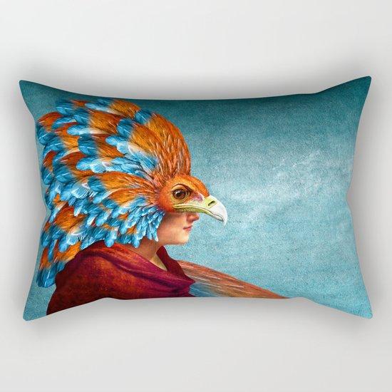 Free-Spirited Rectangular Pillow