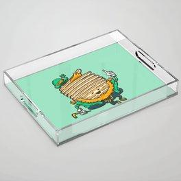 St Patricks Cakes Acrylic Tray