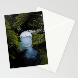 PERSON - WEARING - WHITE - HELMET - PHOTOGRAPHY Stationery Cards