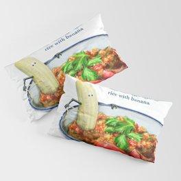La Cuisine Fusion - Malandrinho Tomato Rice with Banana Pillow Sham