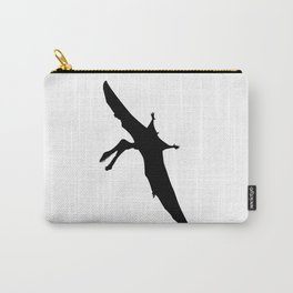 Pterodactyl Silhouette Carry-All Pouch