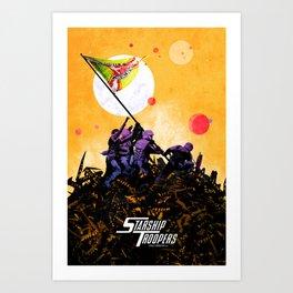 Starship Troopers Art Print