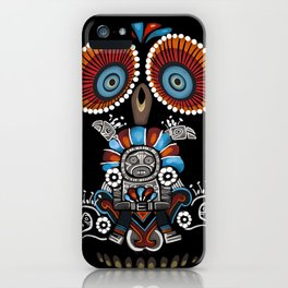 Mexican Owl iPhone Case