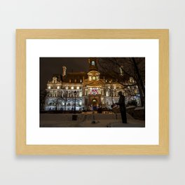 Hotel de Ville Framed Art Print