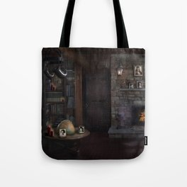 A Character - Decade Self Portraits in Gothic Scene Tote Bag