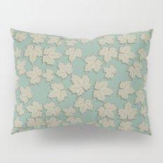 Vintage Leaves Pillow Sham