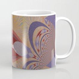 Blue-rusty Design Coffee Mug