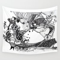 circus Wall Tapestries featuring Circus by Ivanushka Tzepesh