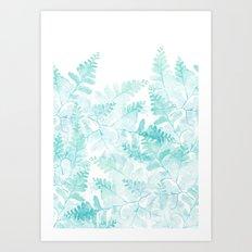 Ferns Rising Art Print