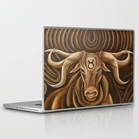 "taurus Laptop & iPad Skins featuring ""Taurus"" by murdzak"