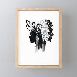 Indian Americans,indigenous,native people Framed Mini Art Print