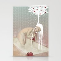 bath Stationery Cards featuring Bath by Natalie Lucht