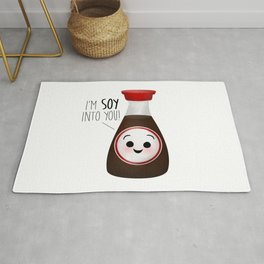I'm Soy Into You! Rug