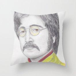 John Sargent Peppers Throw Pillow