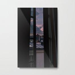 Paris Sunset VI Metal Print