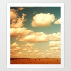 WIDE OPEN SPACES Art Print