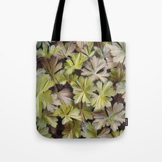 Leafy Abstract Tote Bag