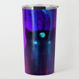 God of Wolves: Neon Flux Travel Mug