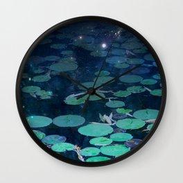 Lucid Waters Wall Clock