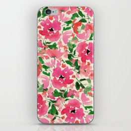 Red Rose Bouquet iPhone Skin