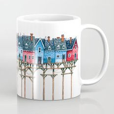 Houses over the sea Mug