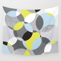 fancy Wall Tapestries featuring Fancy 2 by K&C Design