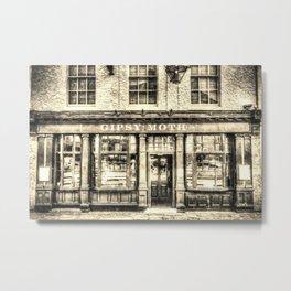 The  Gipsy Moth Pub Greenwich Art Metal Print