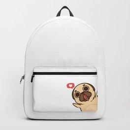 Lovely Pug Backpack