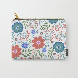 Pretty flowers and flourishes Carry-All Pouch