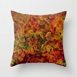 Hydrangea Glow Throw Pillow