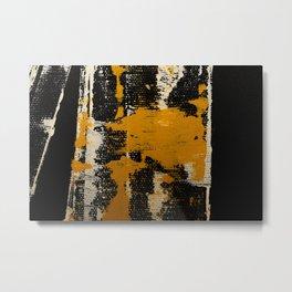 Bamboo Moss Metal Print