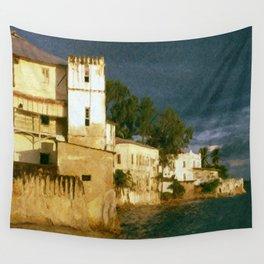 Zanzibar Storm Clouds Wall Tapestry