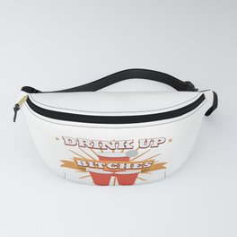 Beer Pong Champion Cup Costume Meme Trophy Gift Fanny Pack