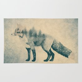 Fox and Forest - Shrinking Forest Rug