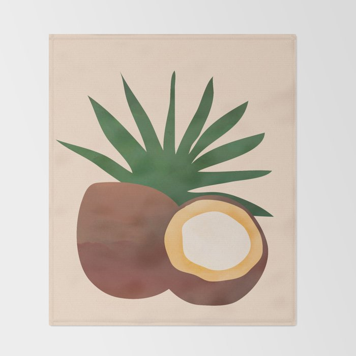 Cocconut Throw Blanket