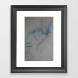 Klooster Series: Female Nude #219 Framed Art Print