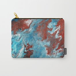 Fantasy in Copper and Blue Carry-All Pouch