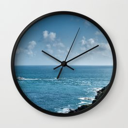 Fort La Latte 2 Wall Clock