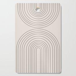 Arch Art Cutting Board