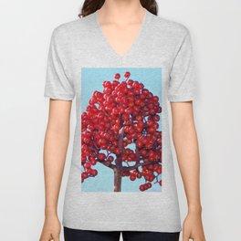 Rowan Berries Unisex V-Neck
