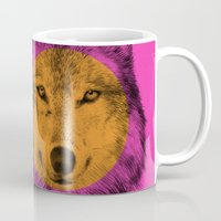 eric fan Mugs featuring Wild 7 - by Eric Fan and Garima Dhawan by Eric Fan