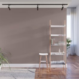 Gracious Pastel Pink Purple Solid Color Pairs To Sherwin Williams Cocoa Berry SW 9078 Wall Mural