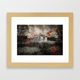 Menin Remembrance Framed Art Print