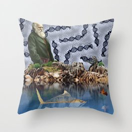 Law of Natural Selection. Throw Pillow